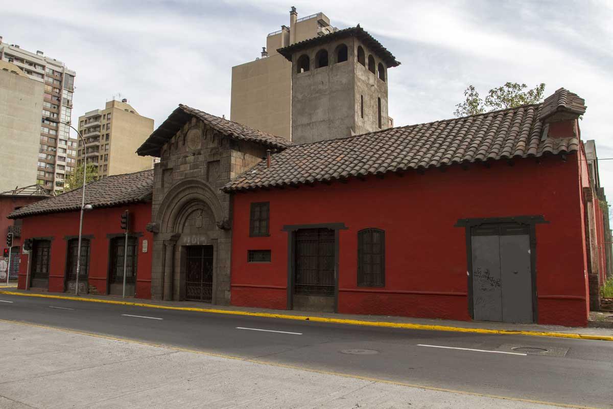 fachada casa de los diez, calle santa rosa