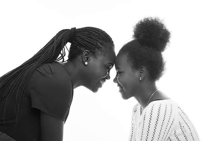 Retrato madre e hija