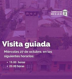 Agenda tu visita guiada a Casa de Los Diez