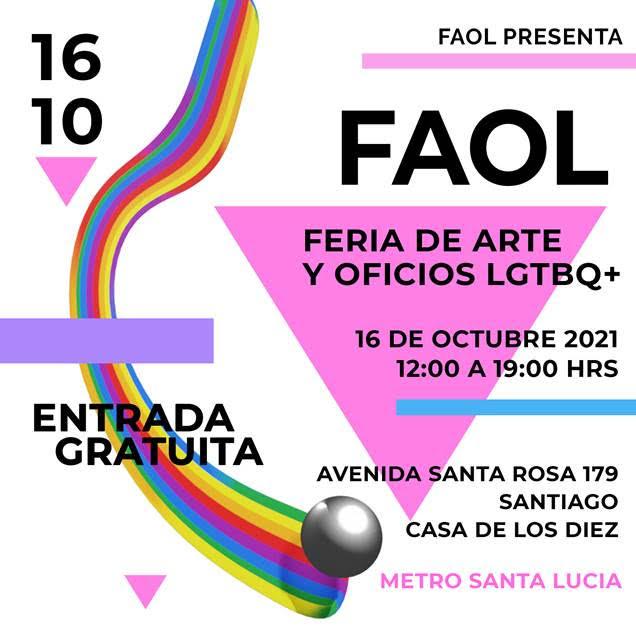 Feria de Artes y Oficios LGBTQ+