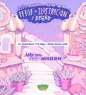 Este 2 y 3 de octubre se realizará en Casa de Los Diez la feria de Ilustración y Diseño.