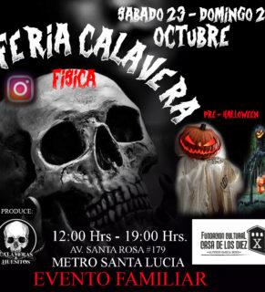Feria Calavera Pre Halloween